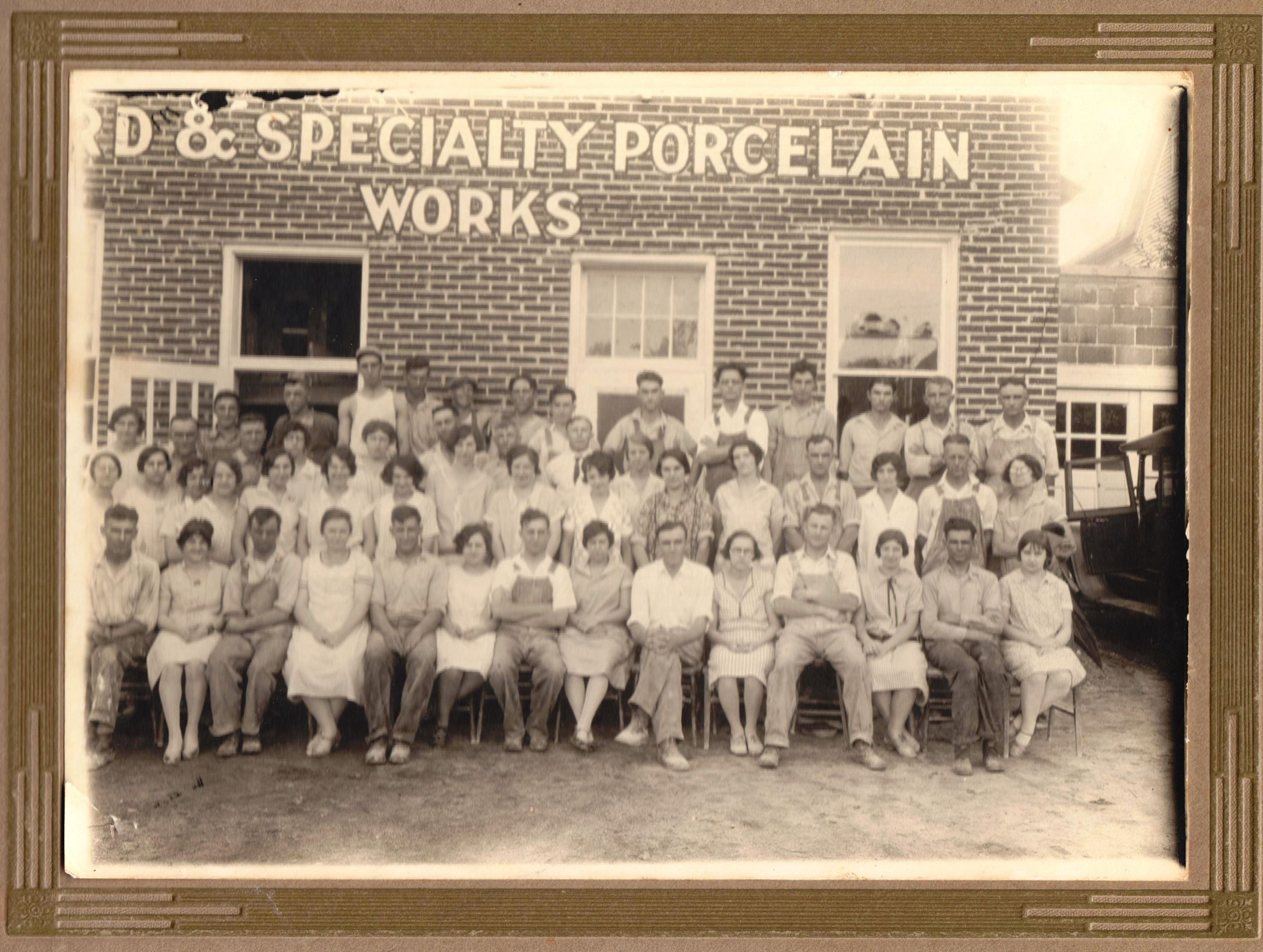 Porcelain Employees 1921-1923