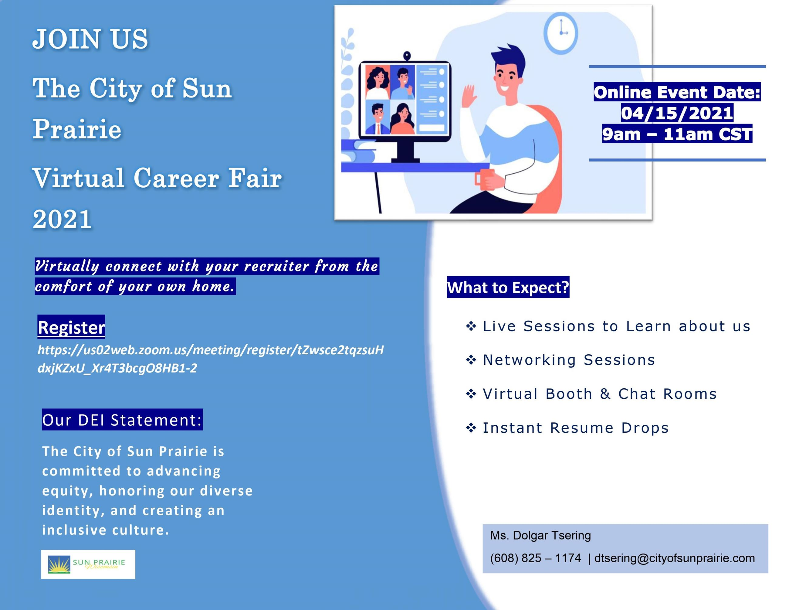 Virtual Career Fair 2021