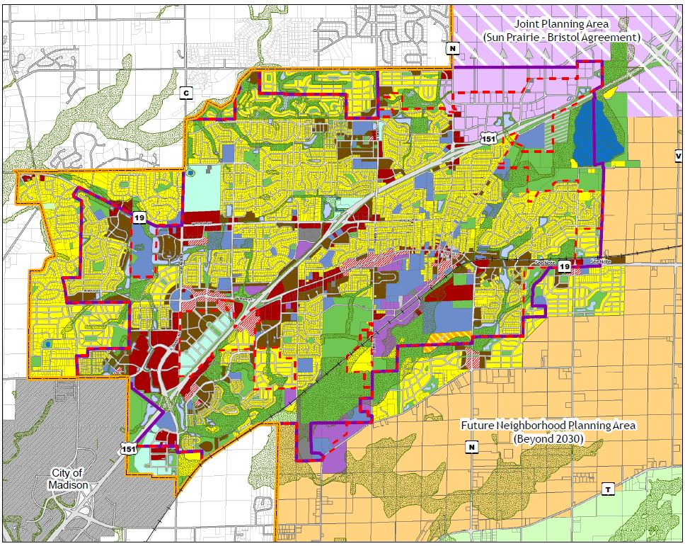 Comprehensive Land Use Plan Map