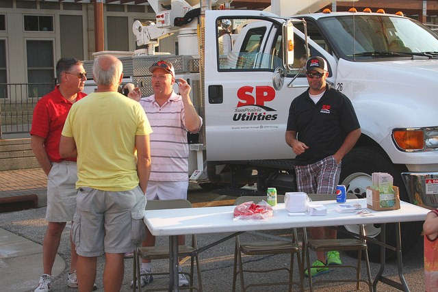 Sun Prairie Utilities at National Night Out