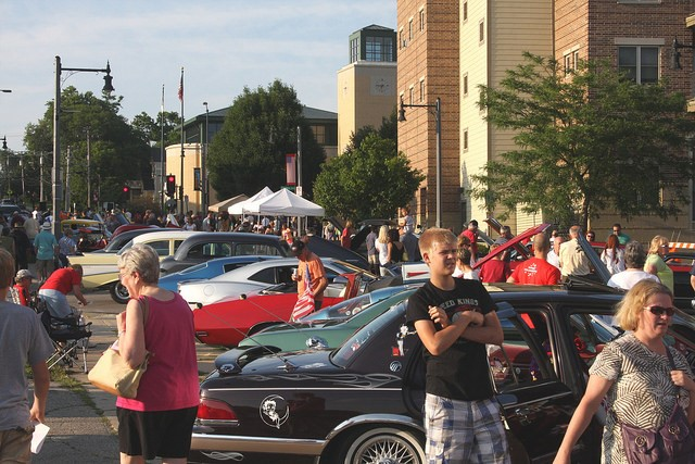 Downtown Car Cruise