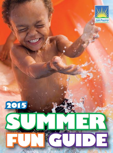 2015 Summer Fun Guide Cover