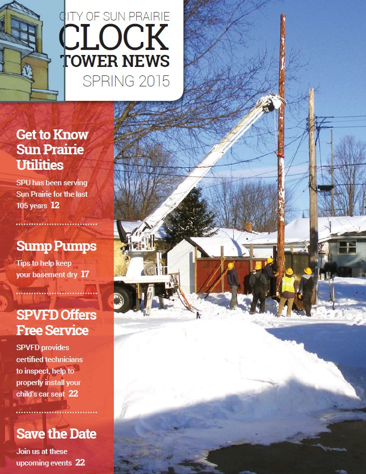 Clock Tower News Cover Spring 2015