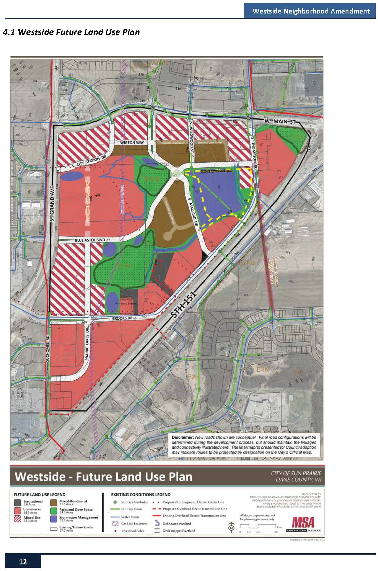Amended Land Use Plan Map