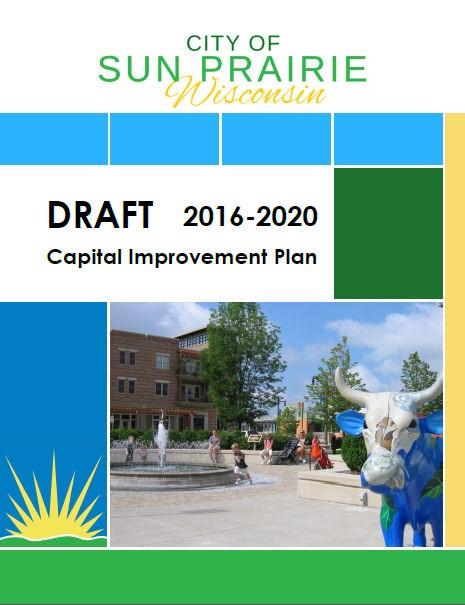 Draft CIP 2016-2020 Cover