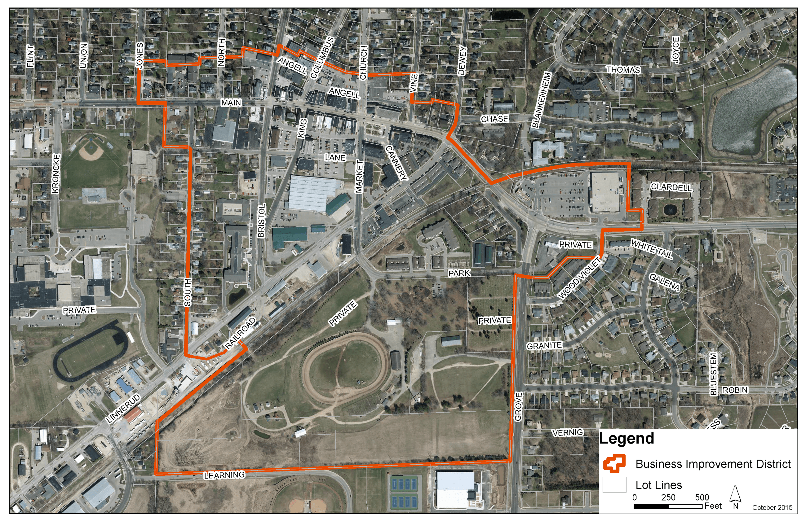 BID Boundary Map 10222015