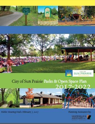 Sun Prairie Park and Open Space Plan - PH Draft Cover
