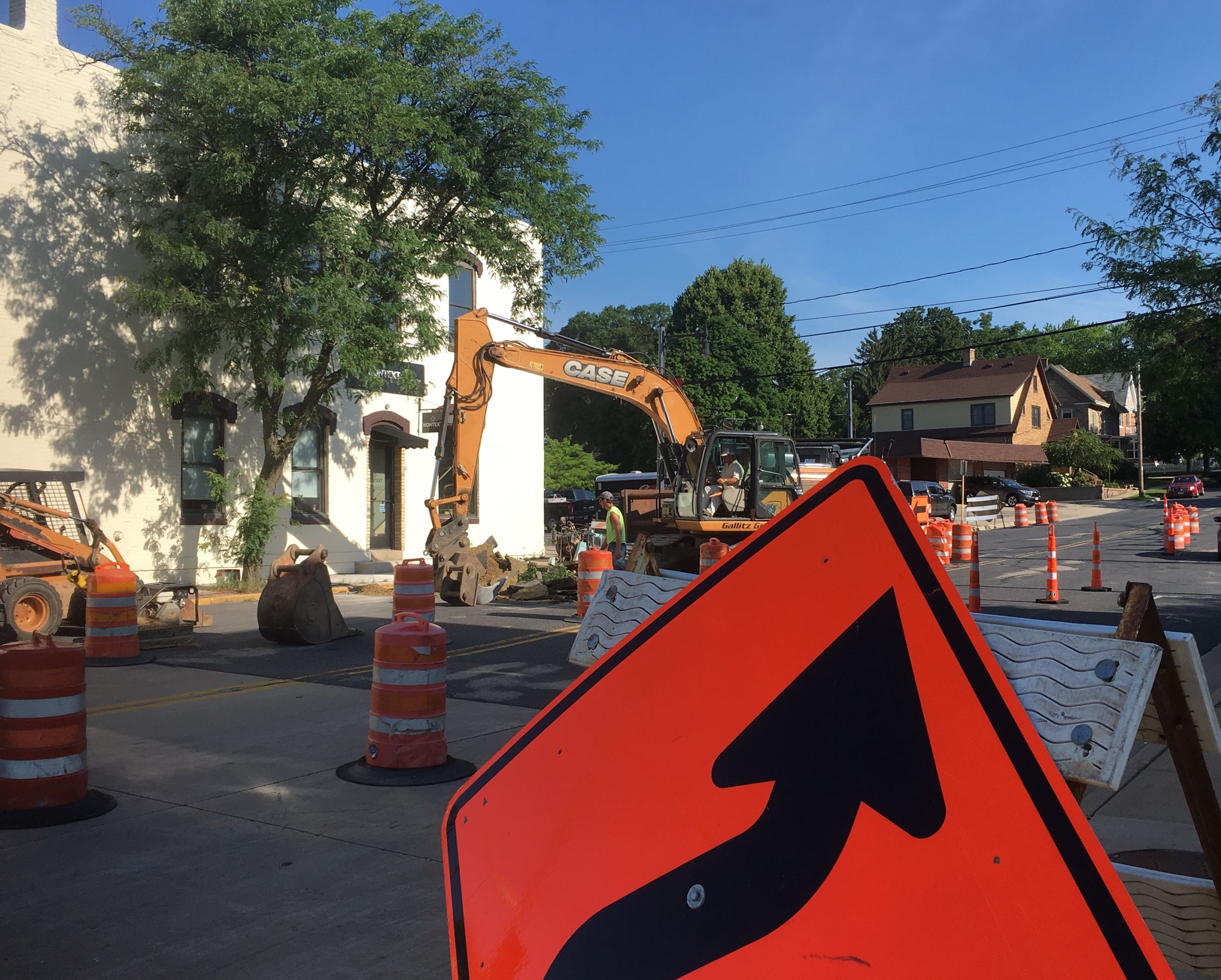 Construction on Church Street