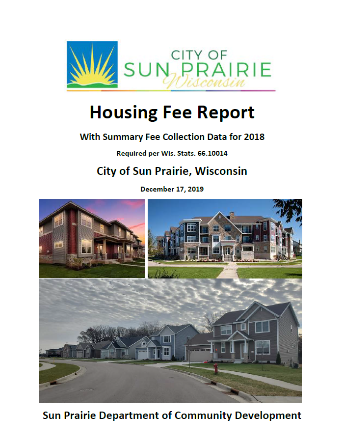 Housing Fee Report