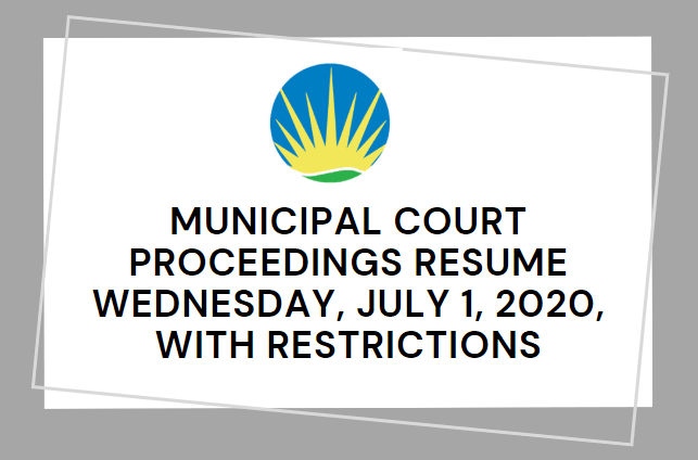 municipal court resumption