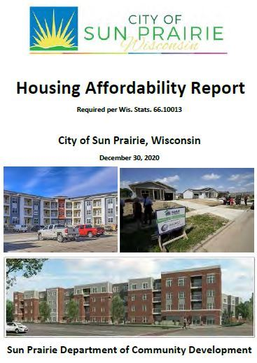 Housing Affordability Report Cover Opens in new window