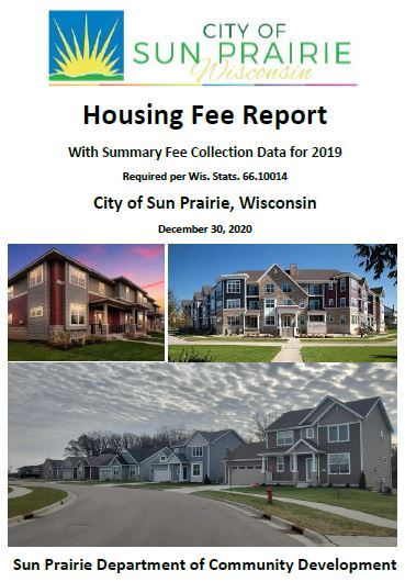 Housing Fee Report Cover Opens in new window