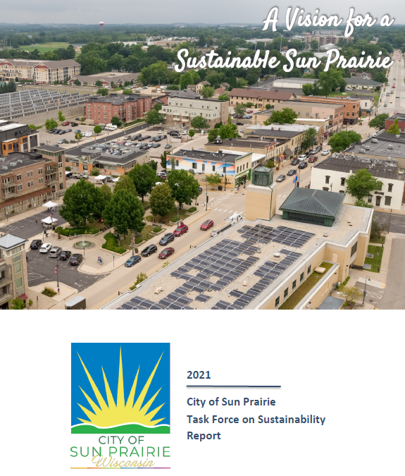 Sustainability Task Force Cover Opens in new window