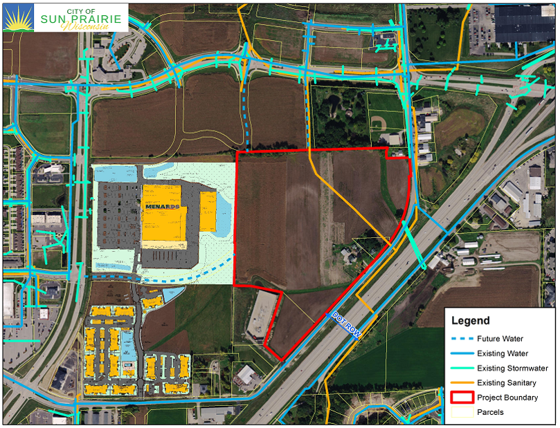 Schneider Property with Future Development and Utilities
