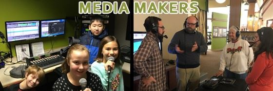 Media Makers Image with kids and adults
