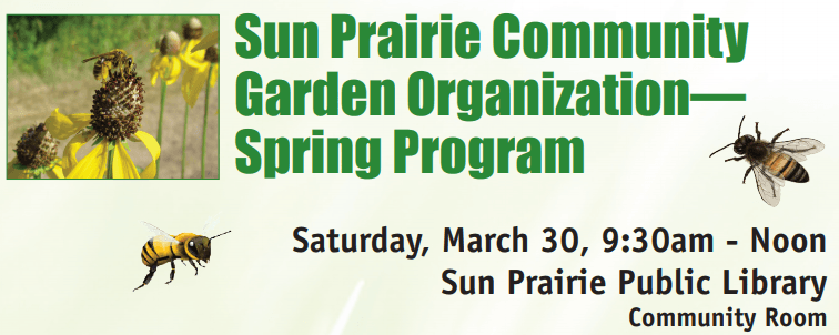 sun prairie community garden flyer Opens in new window