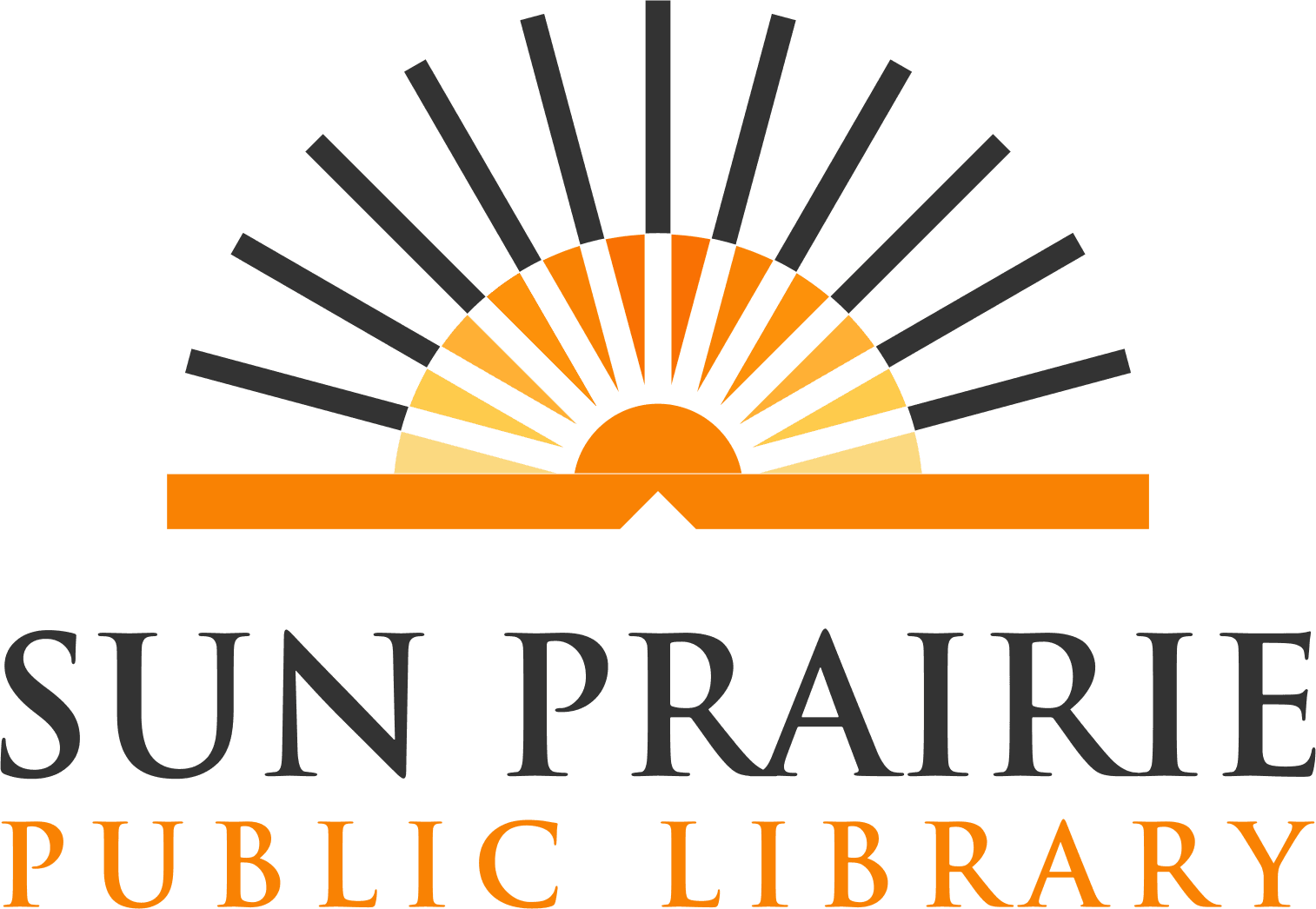 Sun Prairie Public Library Logo Opens in new window