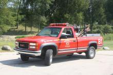 Brush 1 is a 1999 GMC 2500