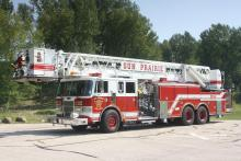 Ladder 1 is a 1992 Pierce Lance