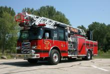 Ladder 2 is a 2007 Pierce Enforcer